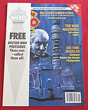 Doctor (Dr) Who Magazine April 15, 1992 (Image1)