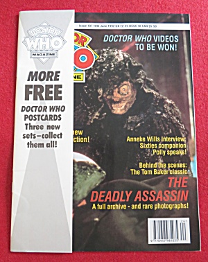 Doctor (Dr) Who Magazine June 10, 1992  (Image1)