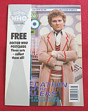 Doctor (Dr) Who Magazine July 8, 1992 (Image1)