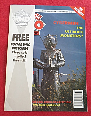 Doctor (Dr) Who Magazine August 5, 1992  (Image1)