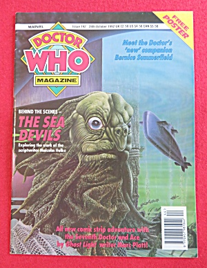 Doctor (Dr) Who Magazine October 28, 1992  (Image1)