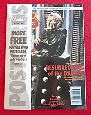 Doctor (Dr) Who Magazine December 23, 1992  (Image1)
