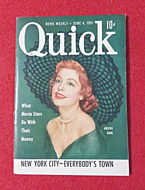 Quick News Weekly Magazine June 4, 1951 (Image1)