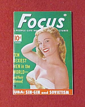 Focus Magazine August 1952 10 Sexiest Men  (Image1)