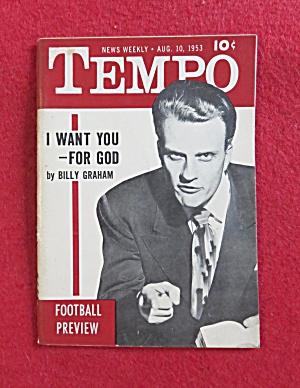 Tempo Magazine August 10, 1953 Billy Graham (Image1)