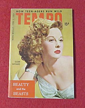 Tempo Magazine February 1, 1954 Susan Hayward  (Image1)