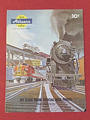 Athearn Model Railroad Train Catalog 1961 - 1962 (Image1)