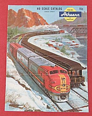 Athearn Model Railroad Train Catalog 1962 - 1963 (Image1)