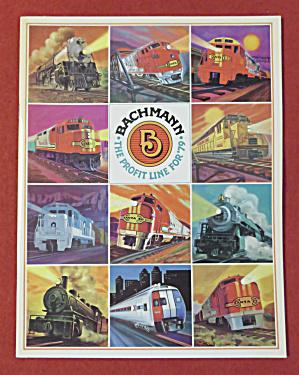 Bachmann Model Railroad Train Catalog 1979 (Image1)