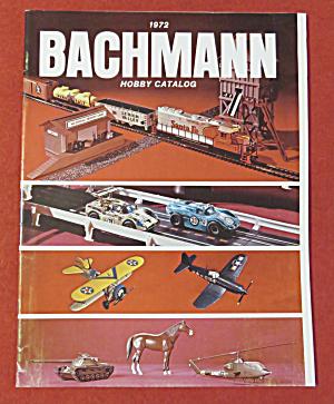 Bachmann Model Railroad Train Catalog 1972 (Image1)