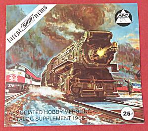 AHM Model Railroad Catalog Supplement 1968 (Image1)