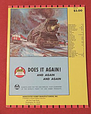 AHM Model Railroad Catalog Supplement 1970's (Image1)