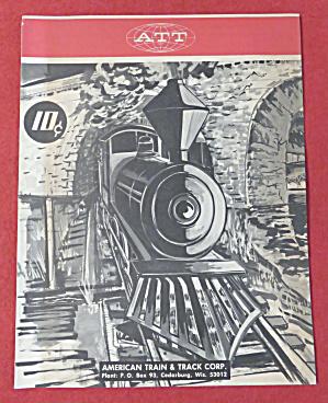 American Train & Track Corp Model Railroad Catalog 1969 (Image1)