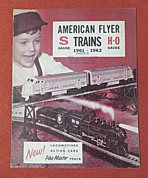 American Flyer Model Railroad Train Catalog 1961-62 (Image1)
