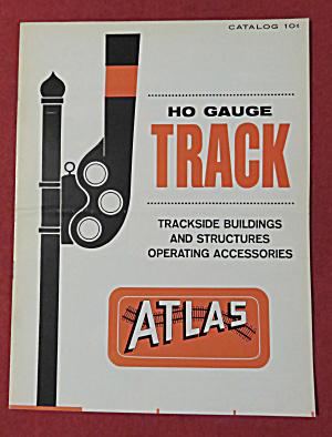 Atlas HO Gauge Track Catalog 1960's  (Image1)