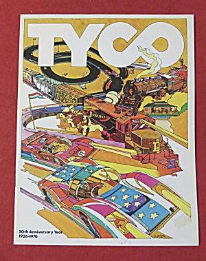 Tyco Model Railroad Train Automobile Toy Catalog 1976 (Image1)
