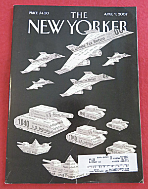 The New Yorker Magazine April 9, 2007 (Image1)