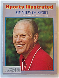 Sports Illustrated Magazine -July 8, 1974- Gerald Ford (Image1)