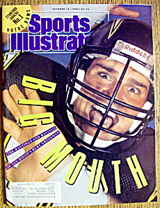 Sports Illustrated Magazine-Oct 15, 1990-Burt Grossman (Image1)