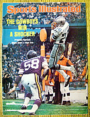 Sports Illustrated-January 5, 1976-Preston Pearson (Image1)