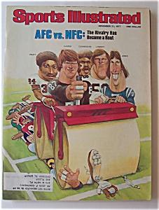 Sports Illustrated Magazine -Nov 21, 1977- AFC vs. NFC (Image1)