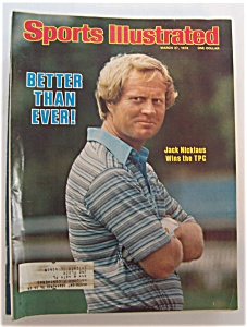 Sports Illustrated Magazine-March 27, 1978- J. Nicklaus (Image1)