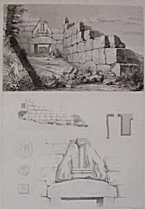 Porte Des Lions A Mycenes (Image1)
