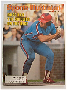 Sports Illustrated Magazine - May 28, 1979 - Pete Rose (Image1)