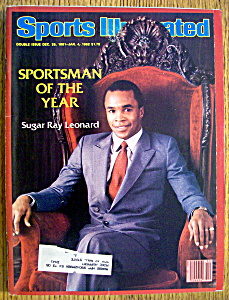 Sports Illustrated Magazine-Dec 1981/Jan 1982-Sugar Ray (Image1)