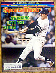Sports Illustrated Magazine-Oct 26, 1981-Craig Nettles (Image1)