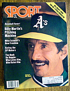 Sports Magazine-May 1981-Oakland's Billy Martin (Image1)