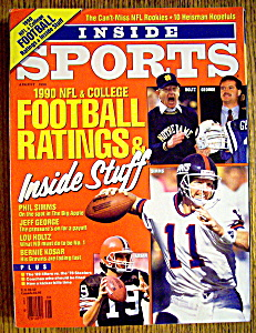 Inside Sports Magazine-August 1990-NFL/College Football (Image1)