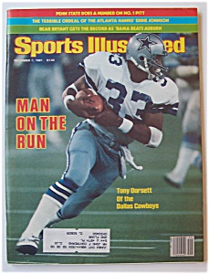 Sports Illustrated Magazine -Dec 7, 1981- Tony Dorsett (Image1)