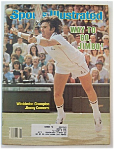 Sports Illustrated Magazine-July 12, 1982-Jimmy Connors (Image1)