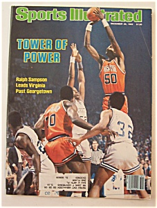 Sports Illustrated Magazine Dec 20, 1982 Ralph Sampson (Image1)