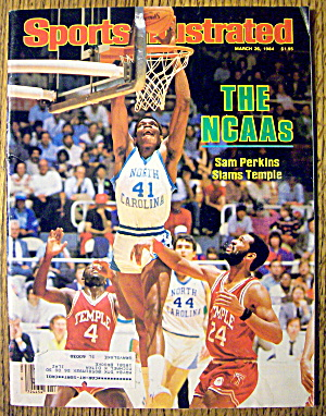 Sports Illustrated Magazine-March 26, 1984-Sam Perkins (Image1)