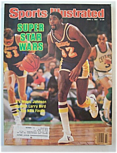 Sports Illustrated Magazine-June 4, 1984-Magic Johnson (Image1)