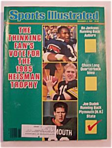 Sports Illustrated Magazine-December 2, 1985-Heisman (Image1)