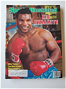 Sports Illustrated Magazine - Jan 6, 1986 - Mike Tyson (Image1)