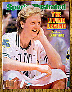 Sports Illustrated Magazine-march 3, 1986-larry Bird