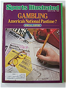 Sports Illustrated Magazine - March 10, 1986 - Gambling