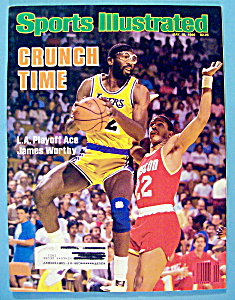 Sports Illustrated Magazine-may 19, 1986-james Worthy