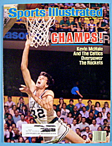 Sports Illustrated Magazine-june 16, 1986-kevin Mchale