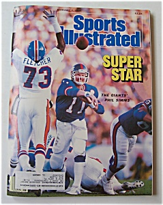 Sports Illustrated Magazine -feb 2, 1987- Phil Simms
