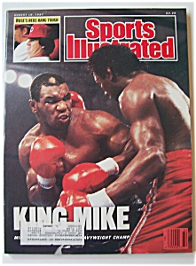 Sports Illustrated Magazine -august 10, 1987- King Mike