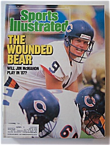 Sports Illustrated Magazine-august 24, 1987-jim Mcmahon