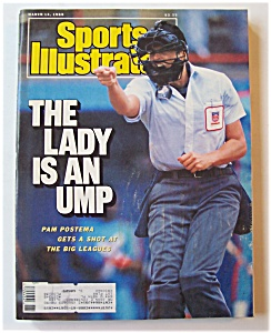 Sports Illustrated Magazine-march 14, 1988-pam Postema
