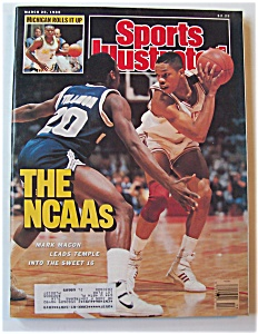 Sports Illustrated Magazine-march 28, 1988-mark Macon