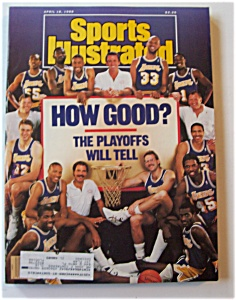 Sports Illustrated Magazine - April 18, 1988 - Playoffs