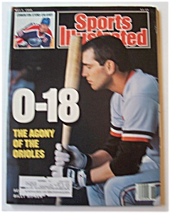 Sports Illustrated Magazine - May 2, 1988 - Orioles
